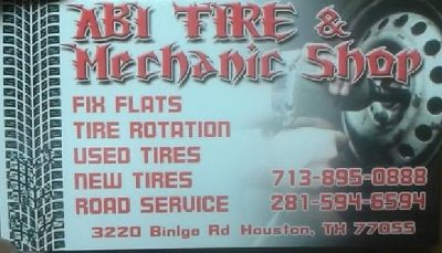 Abi tire  mechanic shop