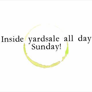 Inside yardsale!!