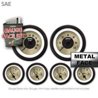 Buy Gauge Face Set - SAE American Classic Gold IX motorcycle in Portland, Oregon, United States, for US $40.50