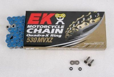 Buy EK Chain Honda CBR929RR Blue 520 MVXZ Motorcycle Drive Quadra X-Ring O-Ring X O motorcycle in Sugar Grove, Pennsylvania, United States, for US $123.00