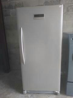 Frigidaire Stainless Stand UP Freezer