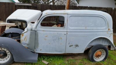 1936 FORD SEDAN DELIVERY PROJECT