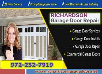 Roll up Garage Door Repair Services Richardson 75081 TX | Just $25.95