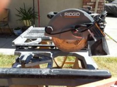 Rigid Tile Saw with stand