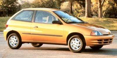 1998 Chevrolet Metro LSi (Scuba Blue (Met))