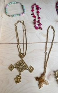 Old necklaces