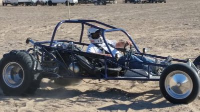 Porsche Powered Mid Engine Sand Rail