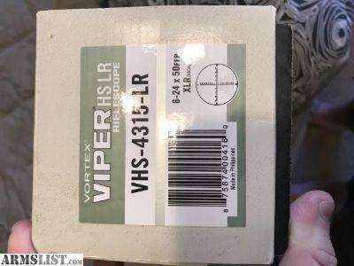 For Sale: Vortex viper hs lr 6-24x50mm ffp
