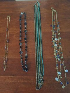 Assorted necklaces $3 each or all for $10