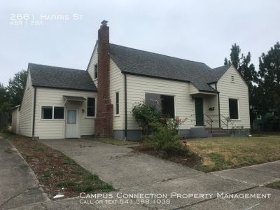 Spacious 4 bed/3 bath in South Eugene with hardwoods, washer/dryer - available July 15th!