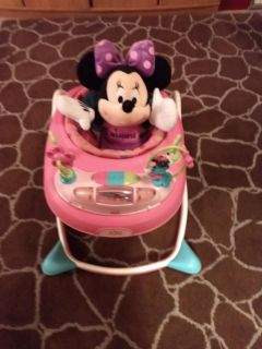 """Minnie Mouse walker and 22"""" Stuffed Minnie Mouse"""