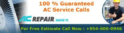Avoid Missing the Coolness Effect in Summers from AC Repair Davie