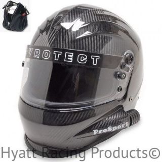 Purchase Pyrotect ProSport Side Forced Air Auto Racing Helmet SA2015 - Carbon Fiber motorcycle in Bend, Oregon, United States, for US $649.00