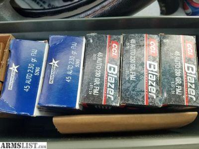 For Sale: 3 boxes cci blazer 230 grn. Fmj