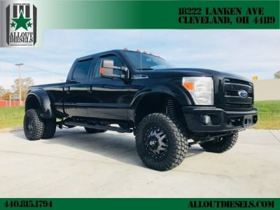 2011 Ford Super Duty F-350 DRW Lifted F350 Diesel 4x4 Lariat ONLY 160,810 miles,