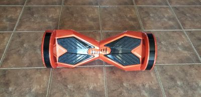 """Used Smart Balance 8"""" self balancing electric scooter with LED lights and Bluetooth Speakers"""