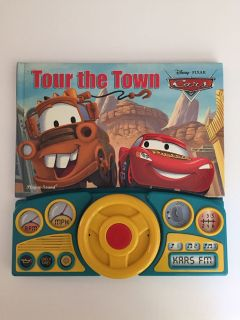 Disney Pixar Cars Tour th Town / EUC / batteries not included