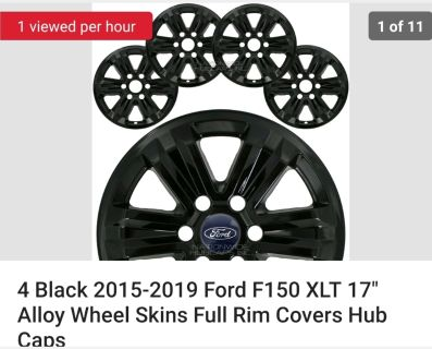 2015-2019 Ford F150 XLT Wheel covers