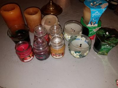 Candles lot