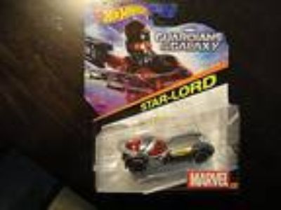 Hot Wheels- Guardians of the Galaxy - Star-Lord Car - New