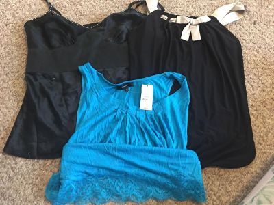 Express tanks lot, bottom is NWT
