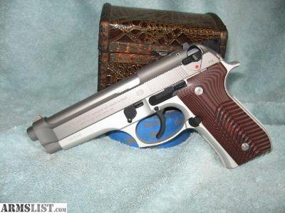 For Sale: NiB never fired Beretta 92fs Inox