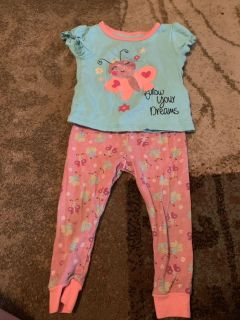 18m buttery fly pj s - ppu (near old chemstrand & 29) or PU @ the Marcus Pointe Thrift Store (on W st)