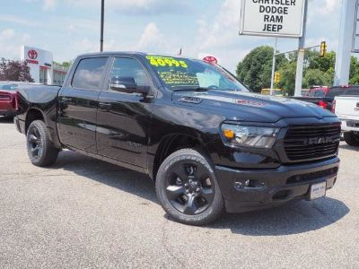 2019 RAM 1500 BIG HORN / LONE STAR CREW CAB (Diamond Black Crystal Pearlcoat)