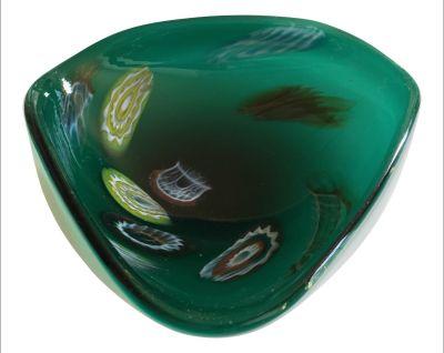 Vintage Green Ashtray