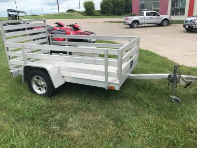 2006 ALUMA 548LW Flatbed Trailer Equipment Trailer Davenport, IA