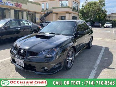 2007 Subaru Impreza WRX (Black)