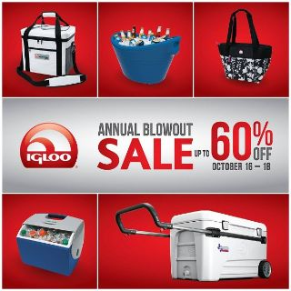 Igloo's 2014 Annual Blowout Sale