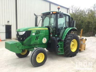 2016 John Deere 6110M 2WD Tractor