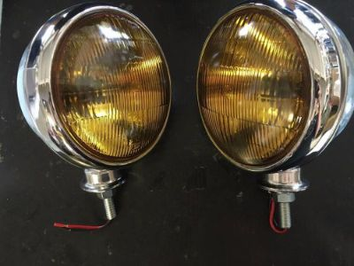 Sell VINTAGE FOG LIGHTS 6 INCH CHEVROLET CARS TRUCKS 1930'S 1940'S 1950'S 12 VOLT motorcycle in Fullerton, California, United States, for US $99.99