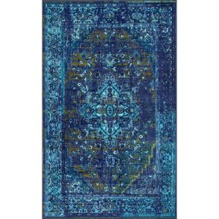 Brand New! 6 7 x9 Brennan Blue Area Rug