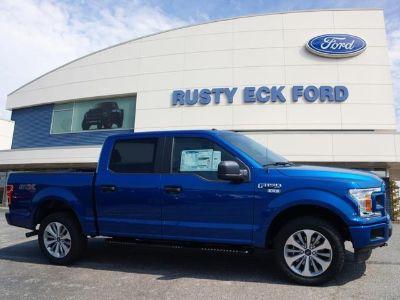 2018 Ford F-150 XL (Lightning Blue)