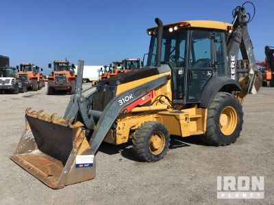 2013 (unverified) John Deere 310K 4x4 Backhoe Loader