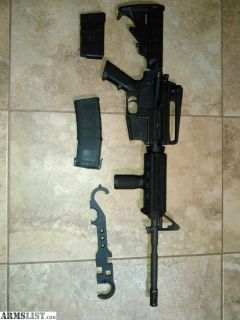 For Sale: AR-15 polymer lower with magpul furniture. NEED to Sell