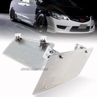 Sell JDM Adjustable Front License Plate Relocate Mounting Bracket Holder For SUBARU motorcycle in Rowland Heights, California, United States