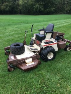 "COMMERCIAL GRASSHOPPER 721 WITH * KUBOTA WATER COOLED MOTOR * 61"" DECK 1235 HOURS NEW TIRES AND ..."