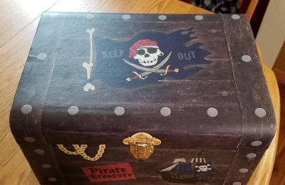 Treasure Chest and Supplies
