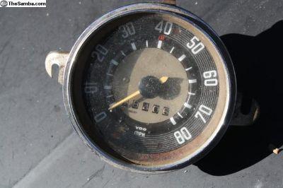 2 February 1963 Speedometer Split Window Bus