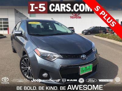 2016 Toyota Corolla L (Slate)