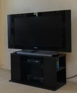 """32"""" TV with stand"""