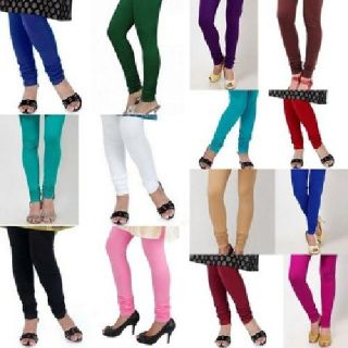 Indian Women 4Way Lycra Stretchable Churidar Leggings