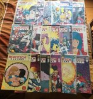 Robotech Masters Comic Books