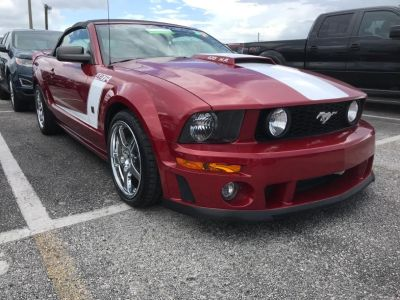 2008 Ford Mustang GT Premium (Red)