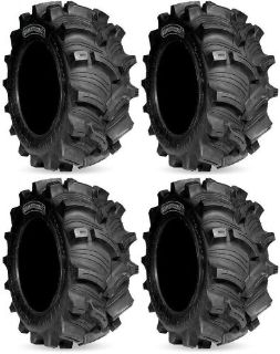 Buy Four 4 Kenda Executioner ATV Tires Set 2 Front 25x8-12 & 2 Rear 25x10-12 K538 motorcycle in Indianapolis, Indiana, United States, for US $374.95