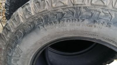 Used Mud Claw tires