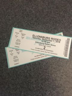 2 Saturday Rodeo Tickets